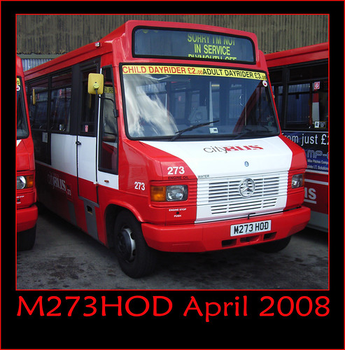Plymouth Citybus 273 M273HOD