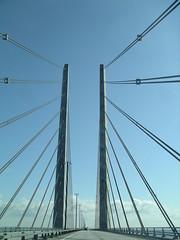 Ponte entre a Dinamarca e a Suécia (Öresundsbron)