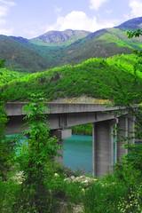 beautiful landscape with bridge photo by Sabina Talovic