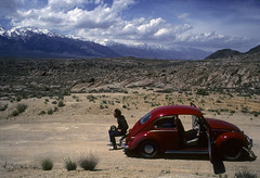 Kevin and the Red Bug photo by Bodie Bailey