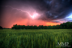 Lightning - in HDR photo by Malcolm MacGregor
