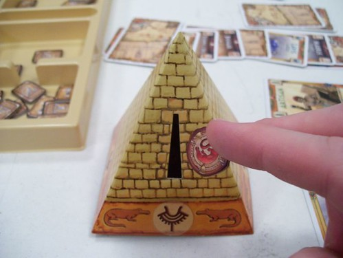Making a deposit into the Pyramid of Corruption