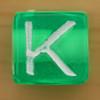 Bead Letter K