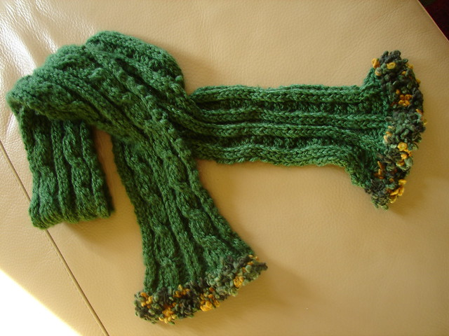 How to make a cable stitch in crochet - by R. Renee Bembry - Helium