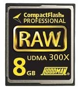 Amazon.com: Hoodman RAW 8 GB, 300x High Speed UDMA Compact Flash Memory Card, Supports up to 45MB per-second Transfers: Electronics