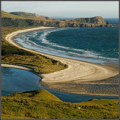 Victory Beach, Otago Peninsula, Dunedin, NZ photo by Ian@NZFlickr