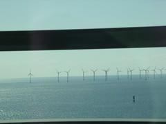 Turbinas eólicas no mar