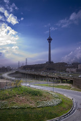 Milad Tower / Tehran photo by Hamed Saber