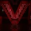 V glowing