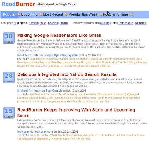 readburner main
