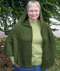 20071011 Hooded Cape Hood Up