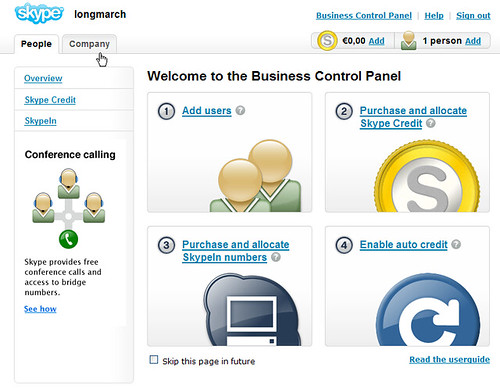 Skype Business Control Pannel(20080413)