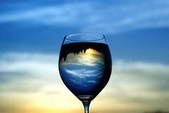 #DSCB7710- Evening Glass photo by crimsonbelt