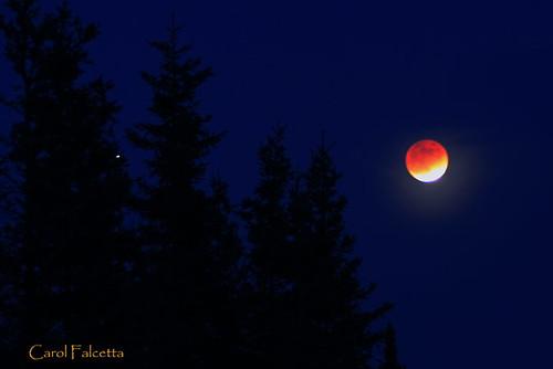 lunar eclipse alaska