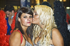 Zurich Street Parade 2009  Kissed by an angel. photo by Izakigur