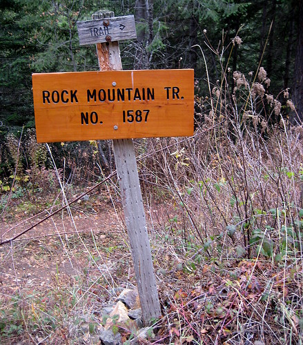 rock mountain trail