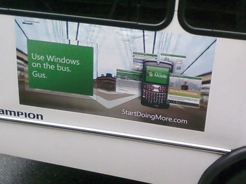 Windows Mobile por todo lado