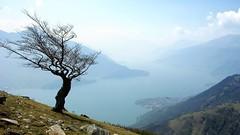 Lake in the Italian Alps photo by cortomaltese