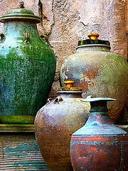 Copper Pottery photo by scilit