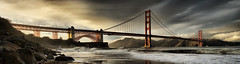 Golden Gate Panorama (Revised) by Josh Sommers