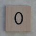 Wooden Tile O