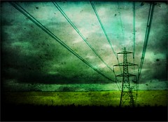 monty pylon's flying powerlines photo by And Soon the Darkness