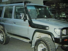 toyota land cruiser 70 series safari snorkel photo by rexman pow