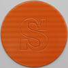 card disc with push out letter s