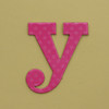 card letter y