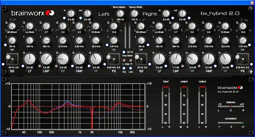 Mastering Equalizer: Brainworx - bx_hybrid 2 0