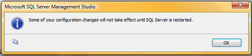 SQLServerConfigMessage