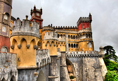 Palacio da Pena, Sintra, Portugal photo by szeke