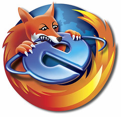 Firefox bites IE