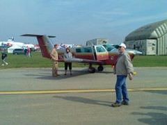 Plane at AirShow
