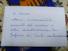 La lettera della Befana...