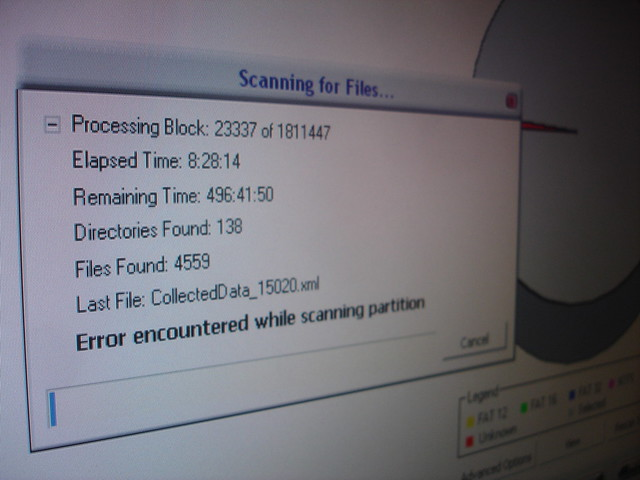 data recovery using software utility no files recovered va dc md ...