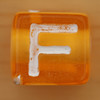 Bead Letter F