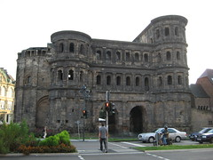 Porta Negra In Trier photo by Luis Alberto Cantu