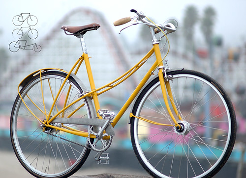 not mine but could it be the prettiest mixte frame ever - Mixte Frame