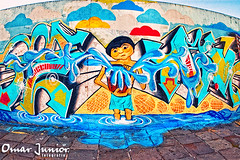Graffiti Flood photo by Omar Junior
