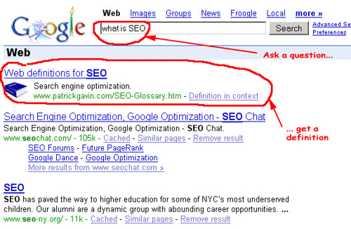 what is SEO Google search