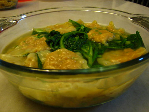 Dumplings Soup With