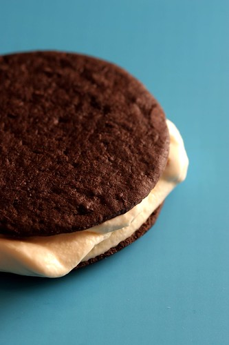 goat cheese ice cream sandwich