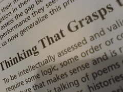 thinking that grasps
