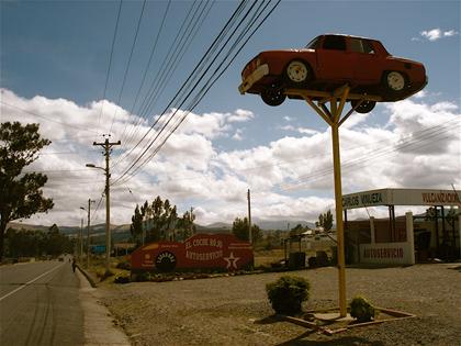 Auto rojo 2