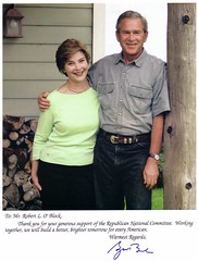 President George and Laura Bush