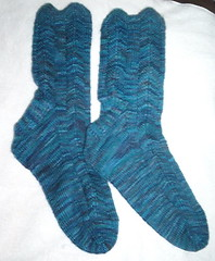 Broadripple Koigu Socks finished!