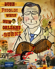 Bush Fiddles While New Orleans Burns