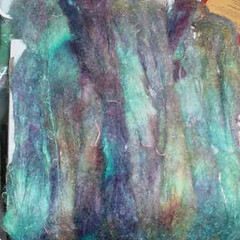 Hand Painted Kid Mohair Yarn