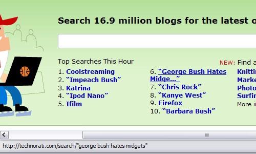 George Bush Hates Midgets